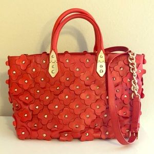 Limited Edition Henri Bendel Floral Satchel